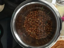 Chana in water